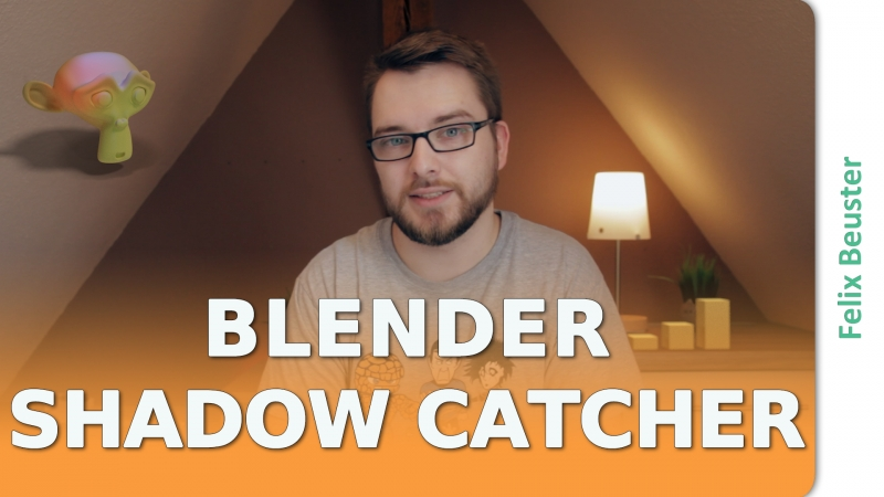 Blender Shadow Catcher und 3D Integration in Videos
