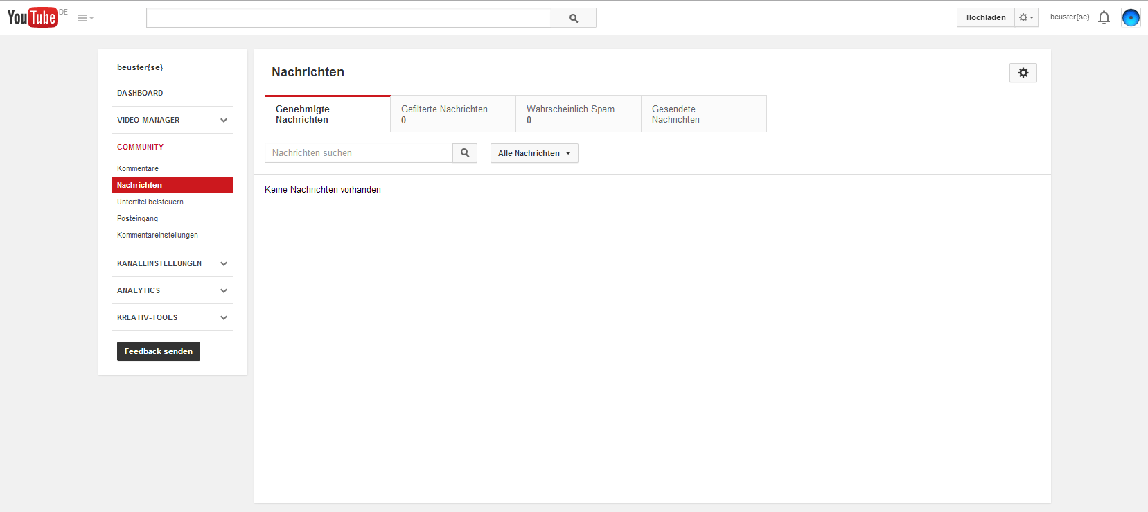 Das neue YouTube Postfach