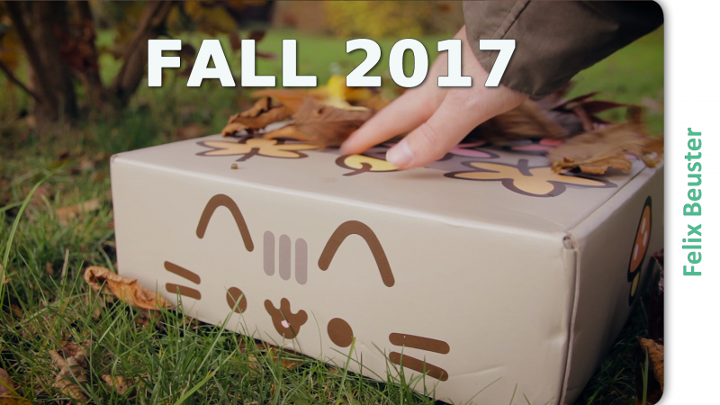 Pusheen Box Herbst 2017 - Unboxing und Review