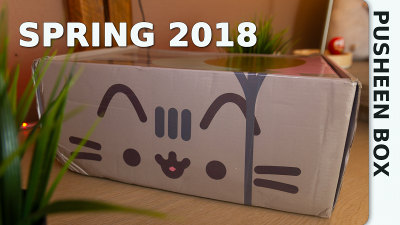 Pusheen Box Frühling 2018 - Unboxing und Review
