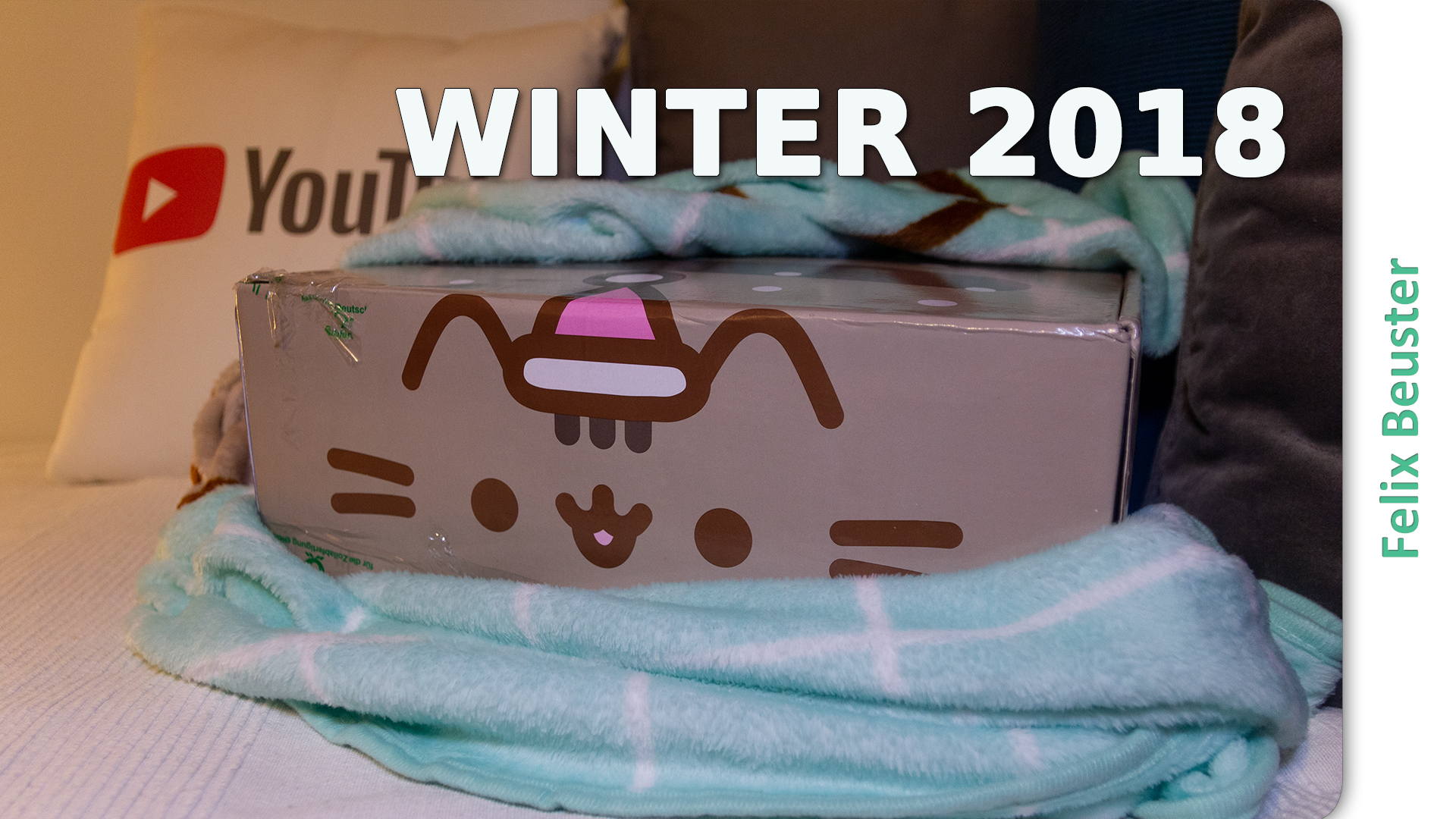 Es wird kalt - Pusheen Box Winter 2018 - Unboxing und Review