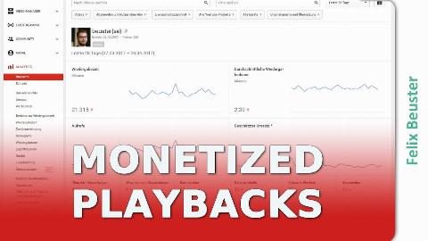 Monetarisierte Wiedergaben in YouTube Analytics anzeigen - YouTube Lupe #90