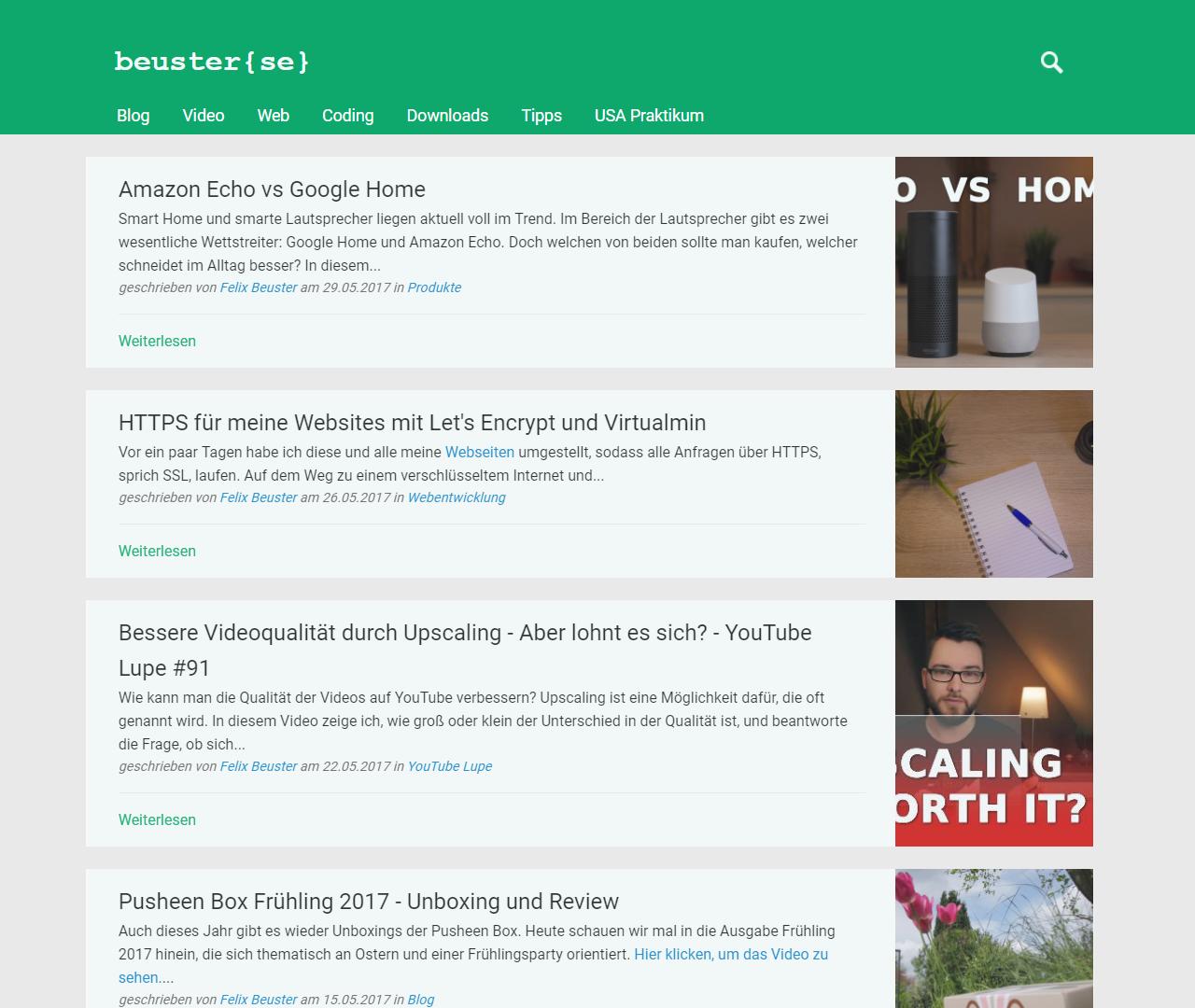Blog, Tipps und Videos - beuster{se}